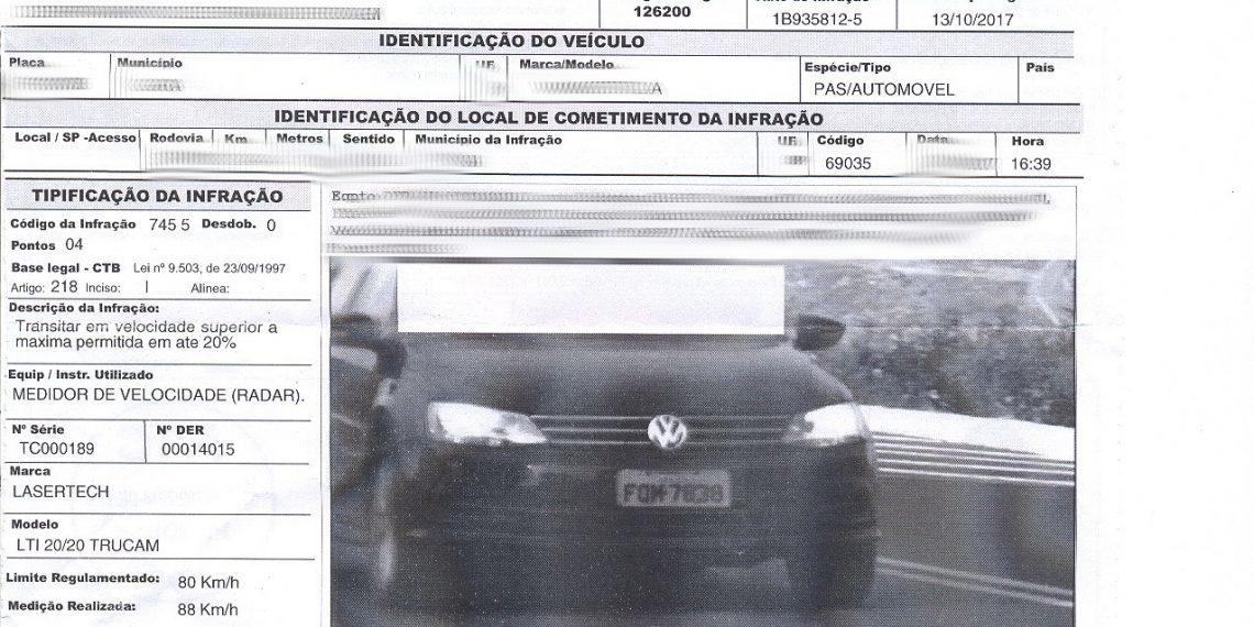 Floripa inicia emissão de multas de trânsito por meio de câmeras